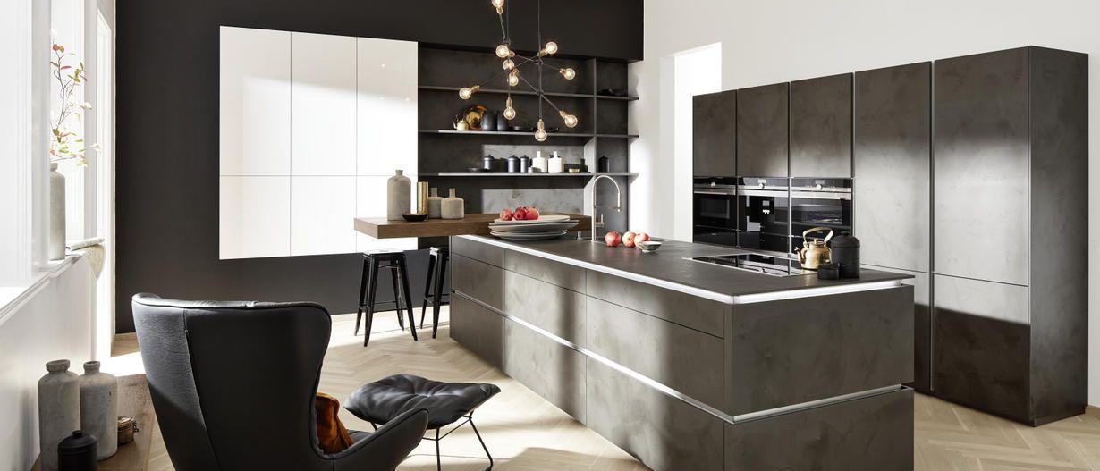 Wohnküchen: Platz zum Leben | nolte-kuechen.de Mehr | Kitchen ...