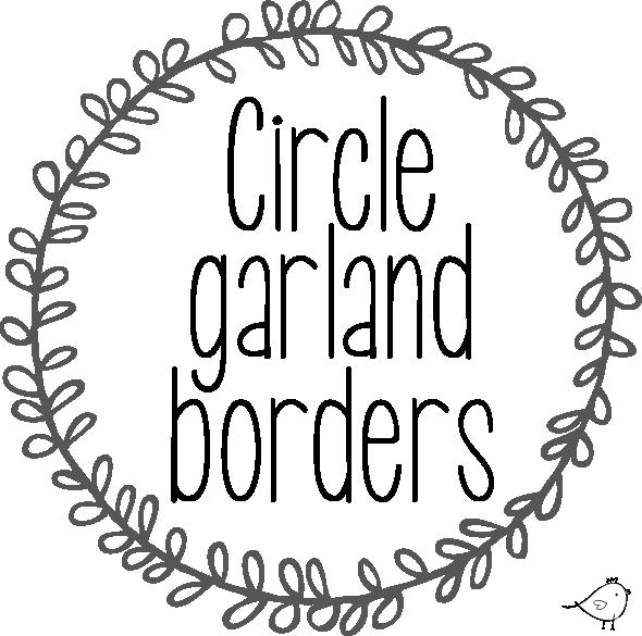 Circle Garland Borders Free Download Pure Sweet Joy Cricut Free Cricut Circle Garland