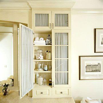 Bathroom storage cabinets glass door upper cabinets let - Bathroom storage cabinets floor to ceiling ...