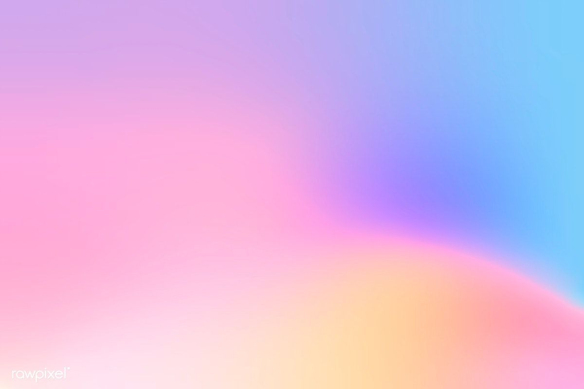 Colorful holographic gradient background design free