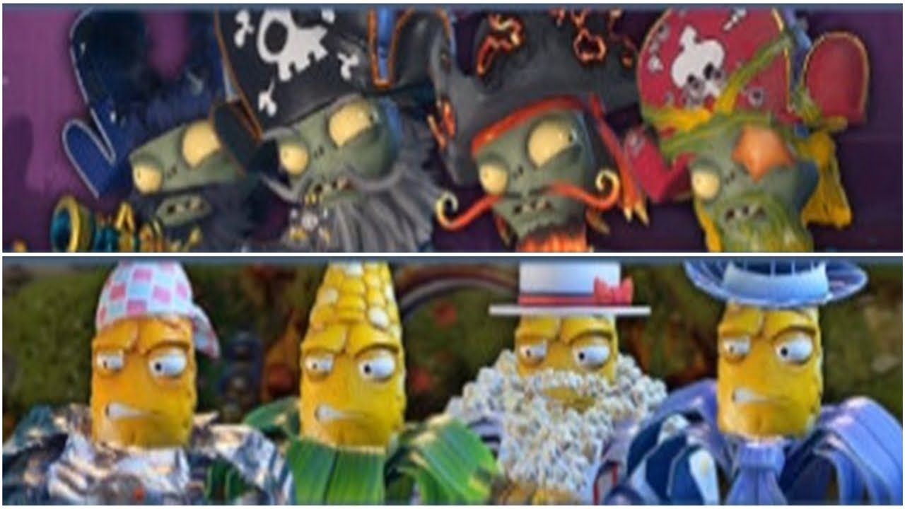 Plants vs Zombies Garden Warfare 2:All Kernel Corn To Fight