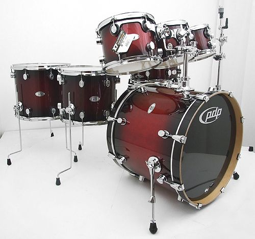 Pdp X7 7 Piece Maple Drum Set That I Used Briefly In The Mod Fun