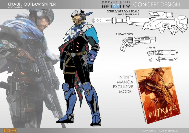 Knauf Outlaw sniper | Sci-Fi Inspiration in 2019 | Infinity