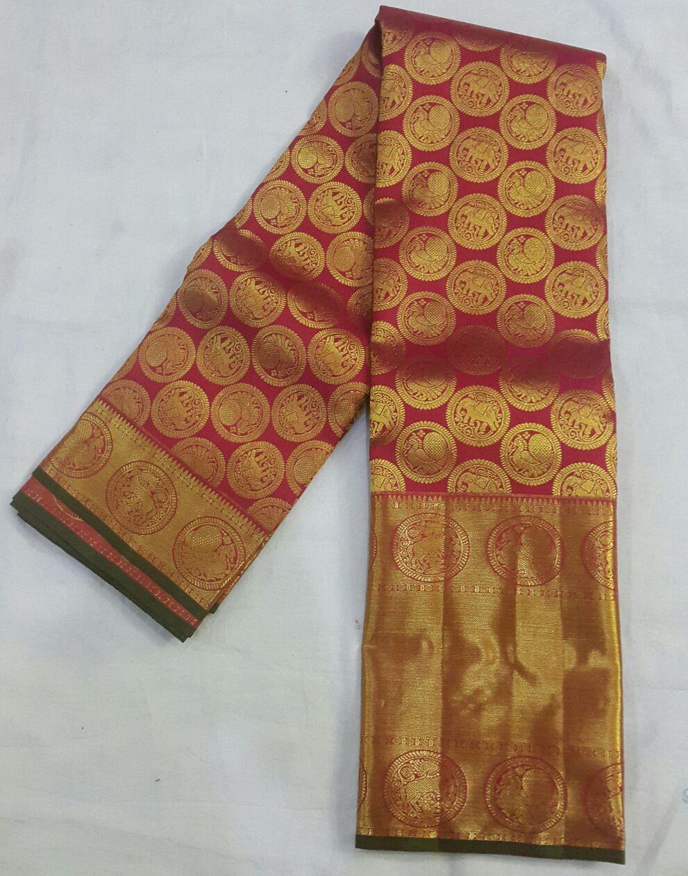 5425b5057a1be Kanjeevaram Silk Sarees for wedding in Kanchi Mahalakshmi Silk Shop  www.kanchipuramsilkwholesale.com Cell   9941653218  wedding  sillk  saree   wholesale ...