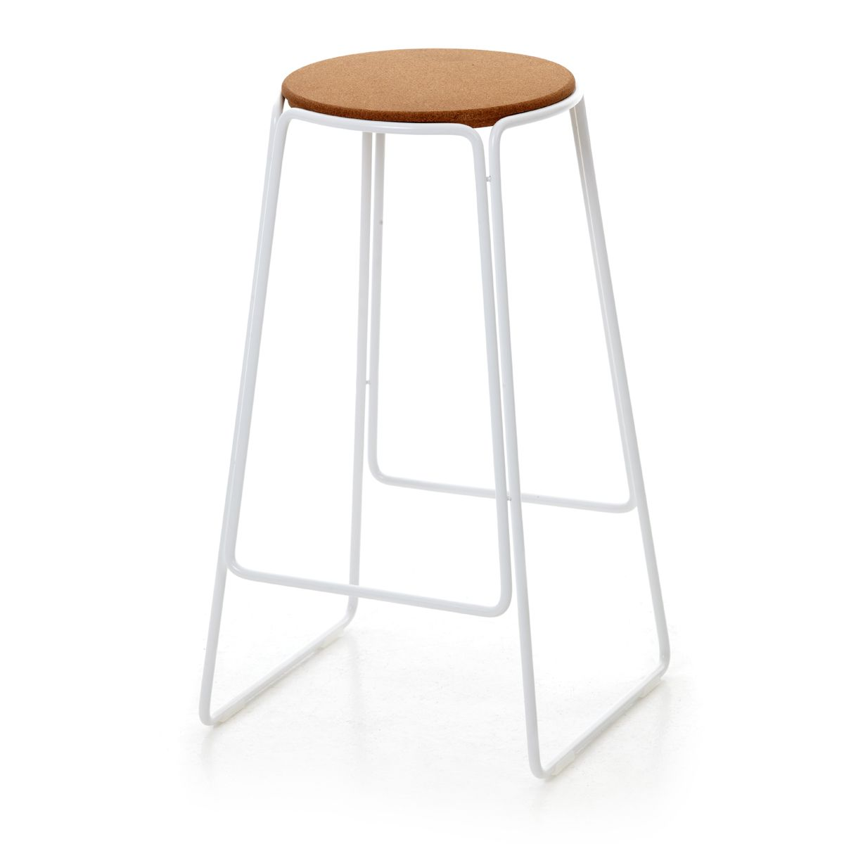 smed stool in white by oxdenmarq exclusive to great dane furniture