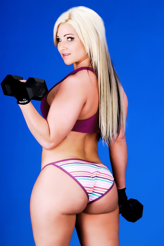 fitness busty Ass