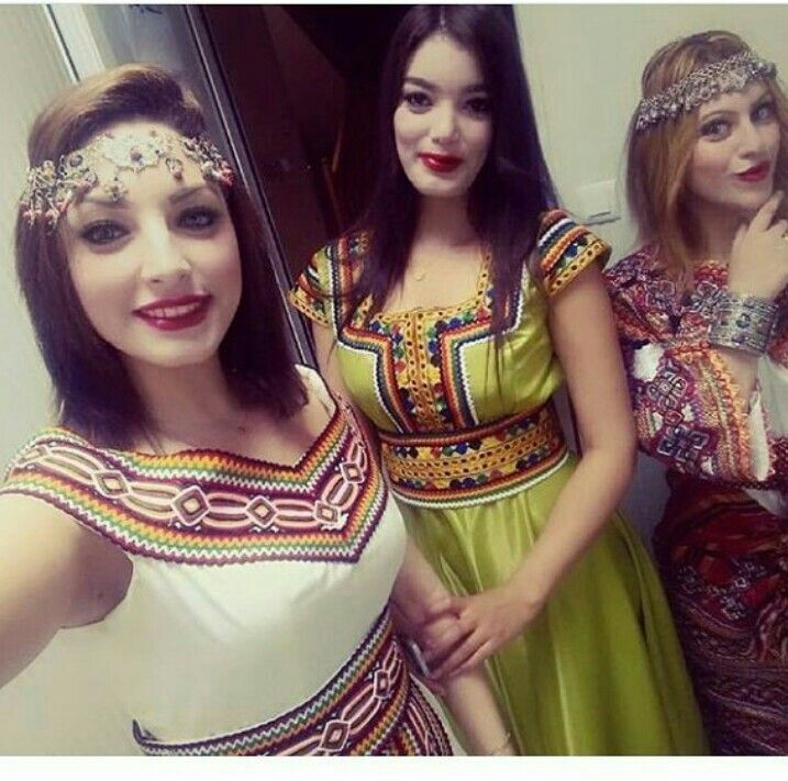 Robes kabyles Robes kabyles en 2019 Robe kabyle