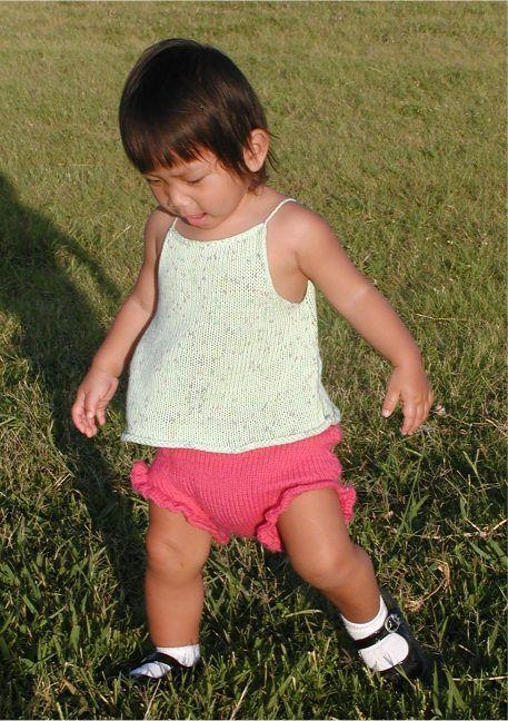 Baby Soaker with ruffled legs | Knitting | Pinterest | Sueño, Tejer ...