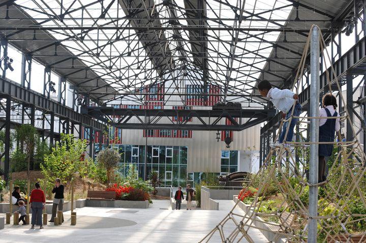 Le de nantes les fonderies jardin public nantes for Le jardin des 5 sens nantes