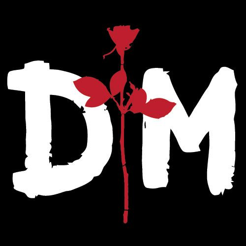 Dm Logo Depeche Mode Fotos De Banda Bandas De Rock