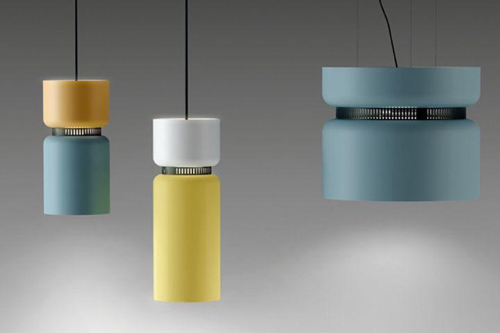 Aspen lamp by Werner Aisslinger for B.lux pendant floor lamp ceiling light