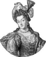Madeleine de Scudéry,  (15. Oktober 1607 in Le Havre - 2. Juni 1701 in Paris)  French author and salonnière