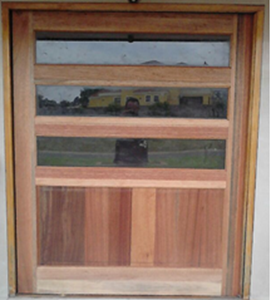 South African Picture Of Horizontal Slatted Glass Pivot Door Pre Hung In Frame 1200 X