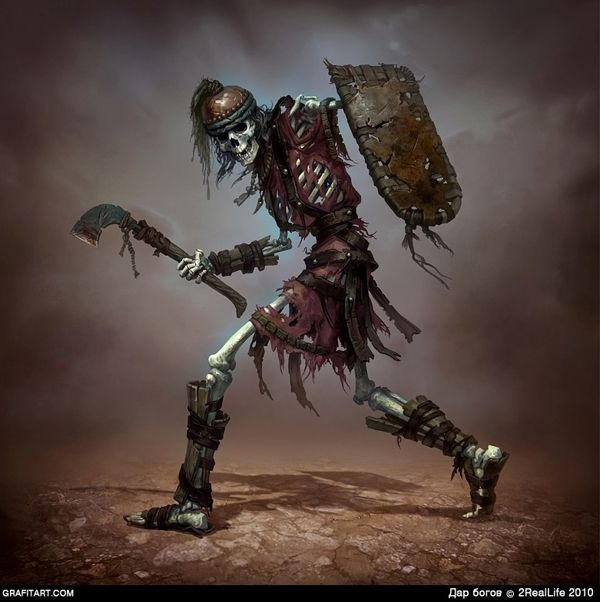 Skeletons for Godsand game | Create your own roleplaying