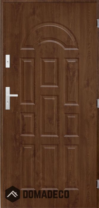 Europa Steel Modern Front Door External Wooden Doors External