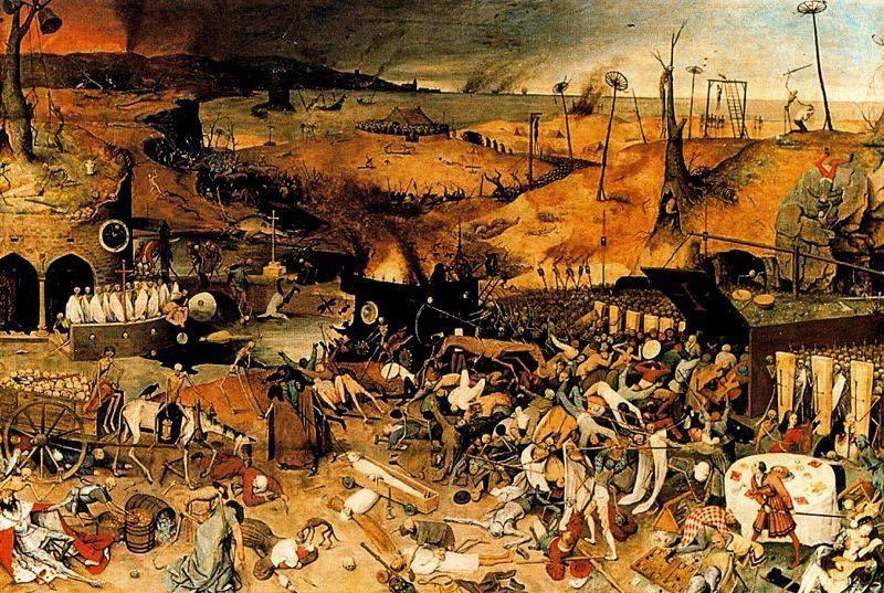 Pieter Brueghel el viejo, El triunfo de la muerte, 1562. Óleo ...