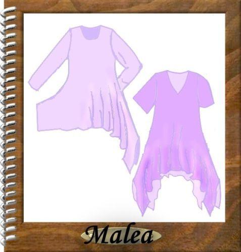 Details zu Designer Schnittmuster Lagenlook Tunika Malea