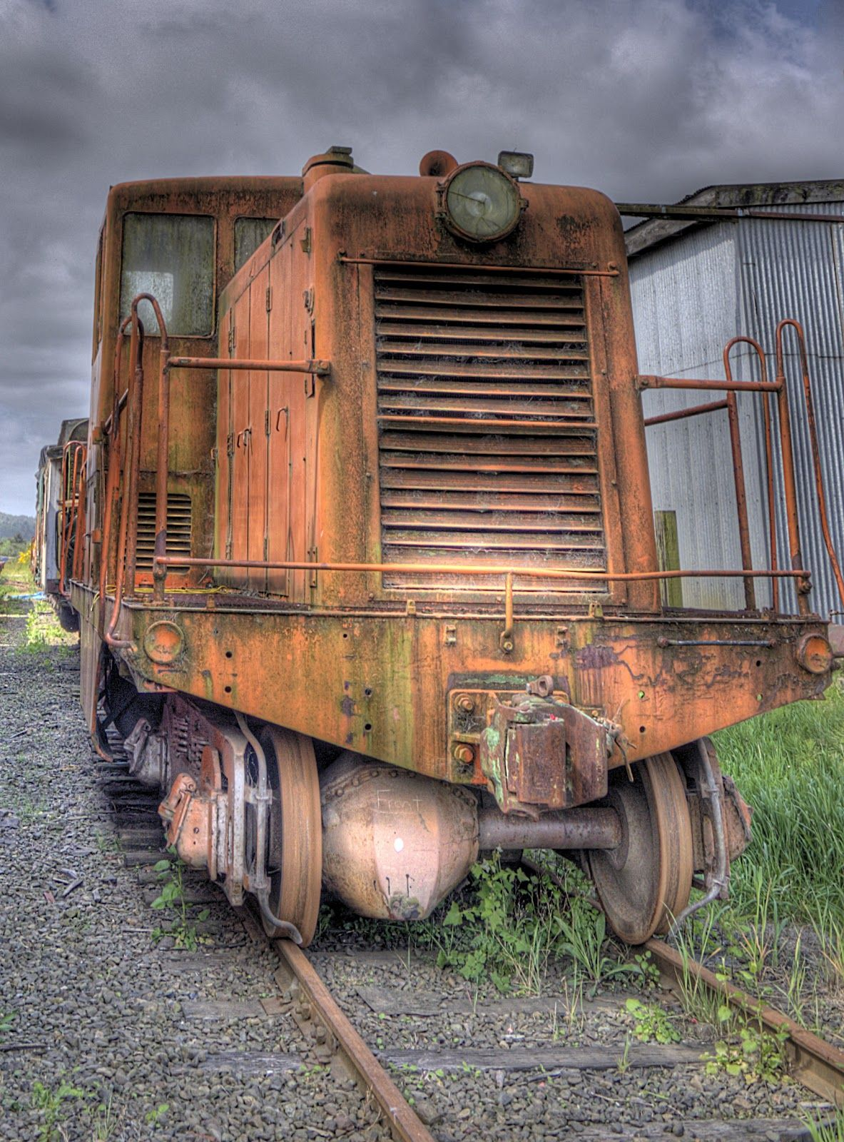 first old trains