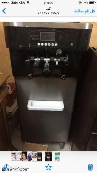 آلة ايسكريم نظيفة قليلة الاستعمال للبيع آلة فيشار امريكي جديدة للبيع Kitchen Appliances Kitchen Espresso Machine