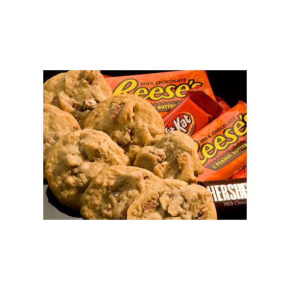 Chocolate Bar Surprise Cookies | Hershey's Kitchens