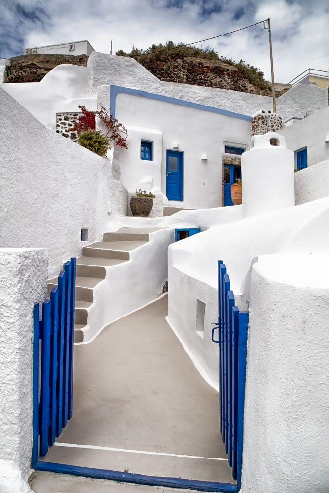 Fira santorini greece pinterest grecia casa griega for Oficina de turismo de grecia