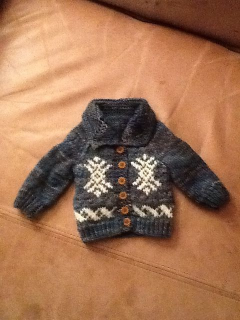 Miniature Cowichan Cardigan Pattern By Veronik Avery Knit Gifts