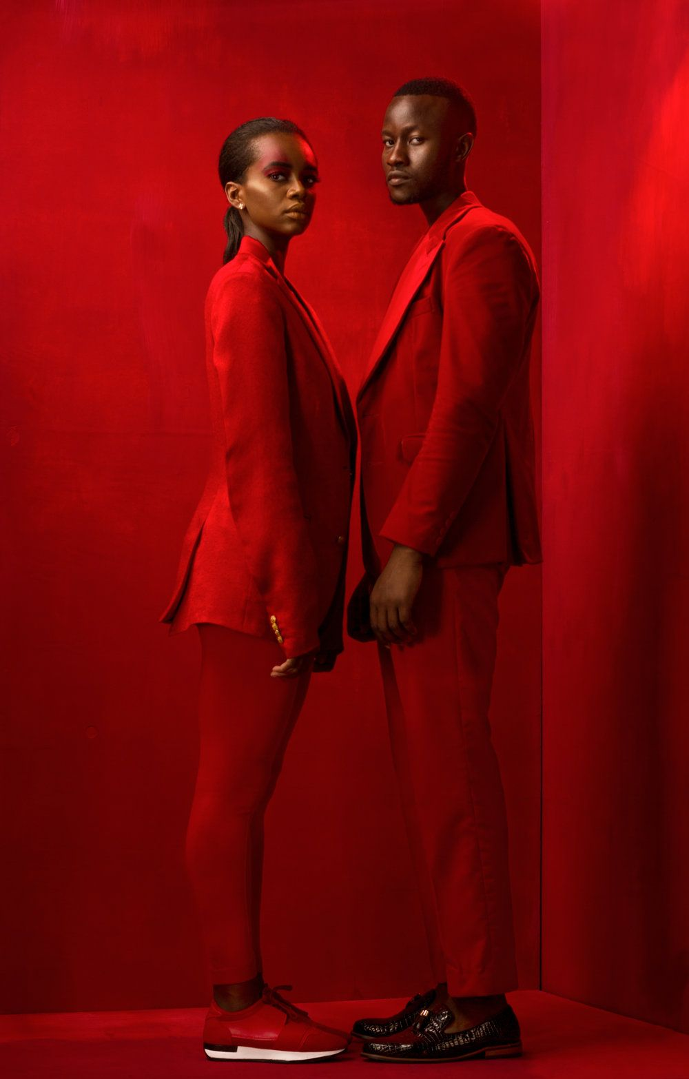 Keef Photography Fashion Edition Dubbed Red African