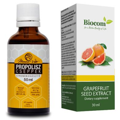 Grapefruitmag csepp 30ml (1x) + Propolisz 50ml (1x ...