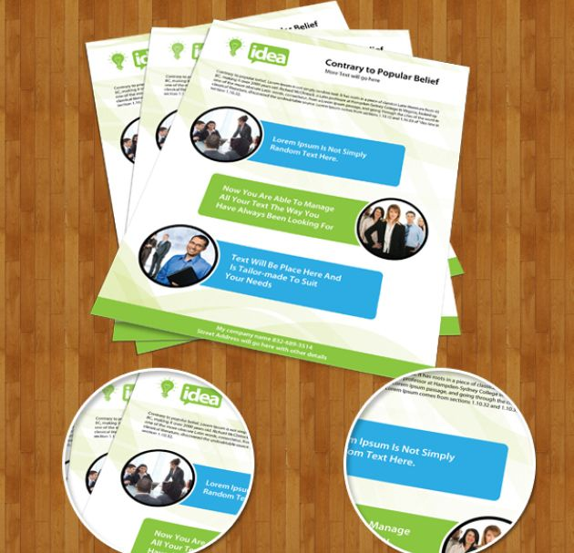 Free Brochure Templates PSD Download Brochure Template - Brochure templates psd