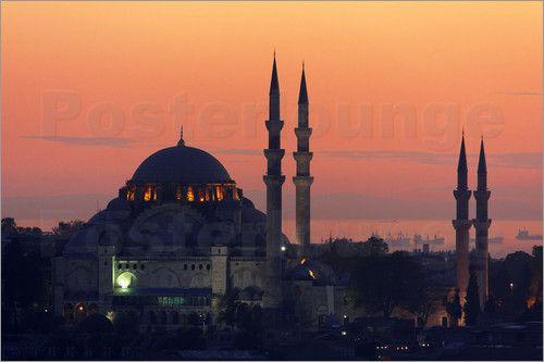 Süleymaniye Moschee Poster von George Tsafos