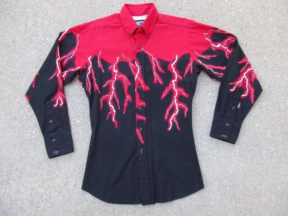 Vtg Brooks \u0026 Dunn Western Shirt