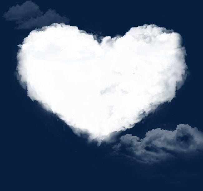 Heart Clouds Clip Art