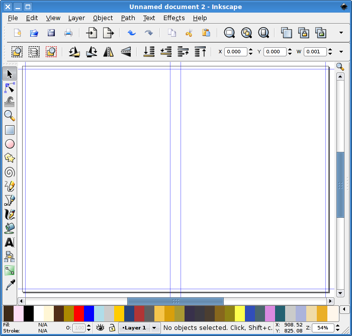 Perfect-Bound Cover Template in Inkscape | Vector Design