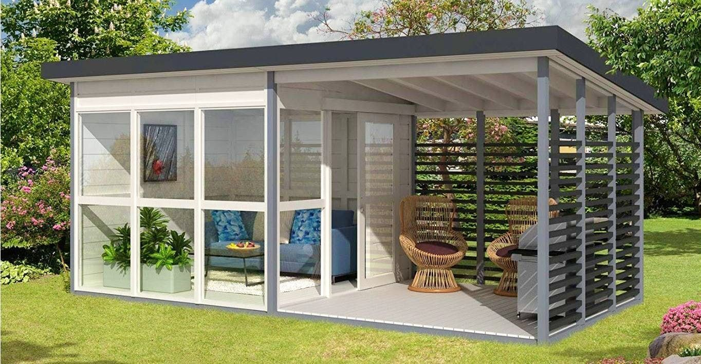 These Mini Guest Homes From Amazon Can Be Assembled In ...