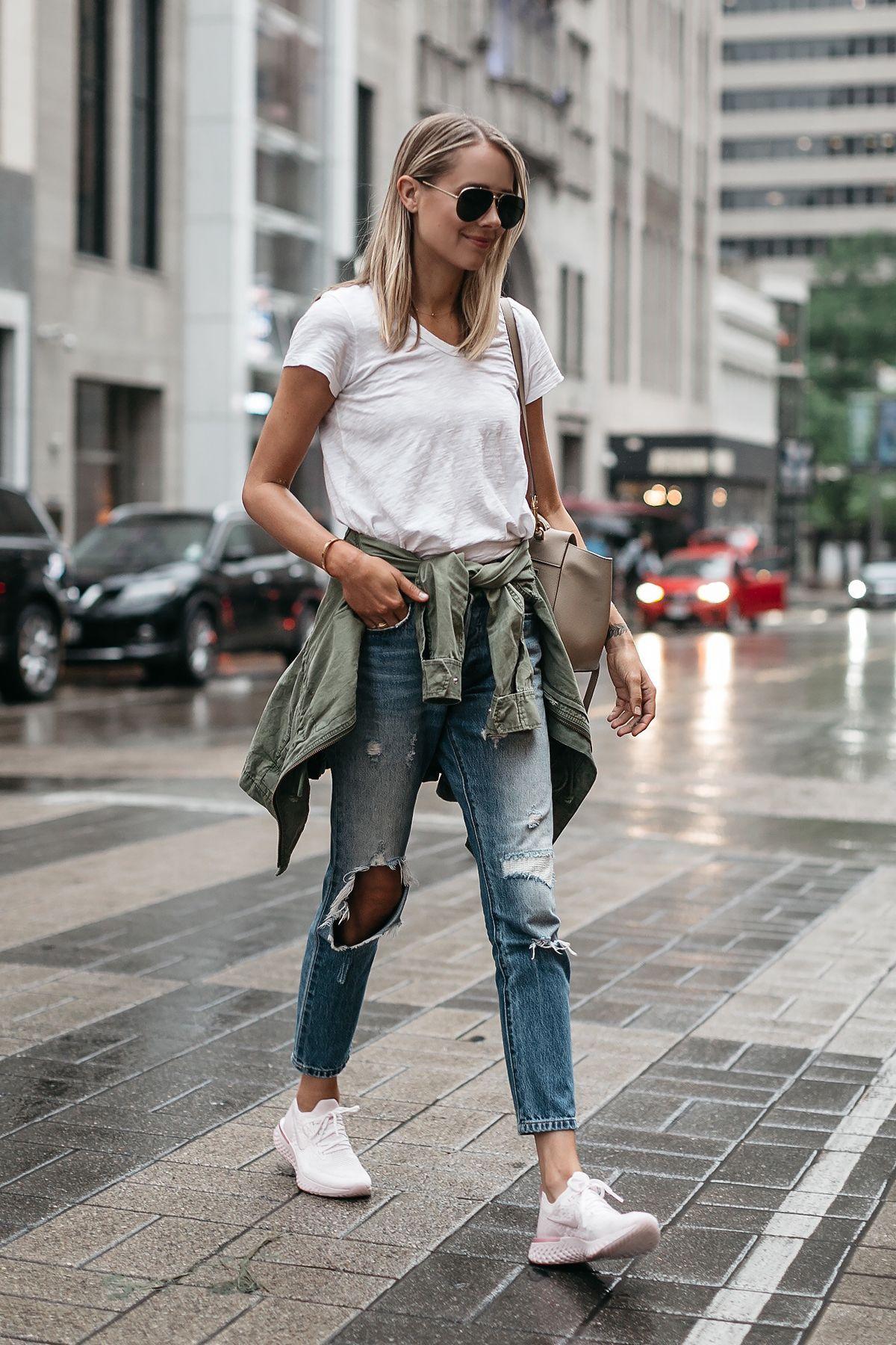 Blonde Woman Wearing N...