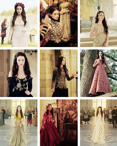 favorite outfits mary stuart (season 1)