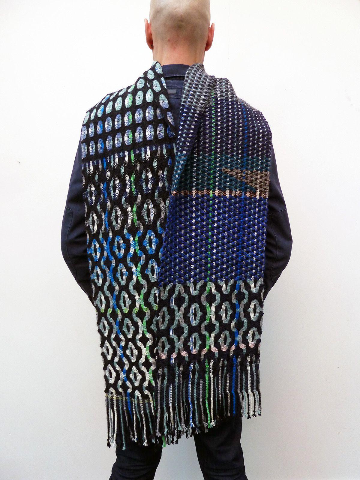 Ilse acke scarf mathilde my work ilse acke pinterest weven mode en inspiratie - Mathilde ontwerp ...