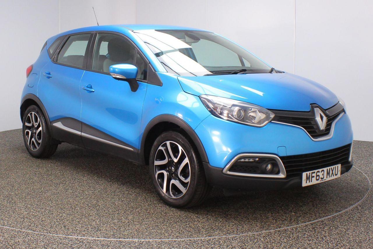 2013 Blue Renault Captur Hatchback 0 9 Dynamique Medianav Energy
