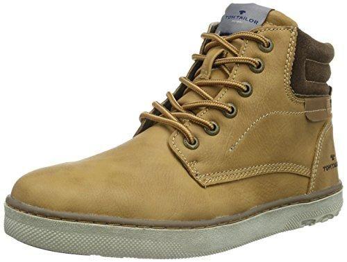 Oferta: 60.96€ Dto: -70%. Comprar Ofertas de Tom Tailor Hombre 8580403alta Sneakers, color marrón, talla 42 EU barato. ¡Mira las ofertas!