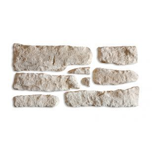Parement pierre de Causse Ton naturel - Paquet de 0,5m² (ORSOL ...
