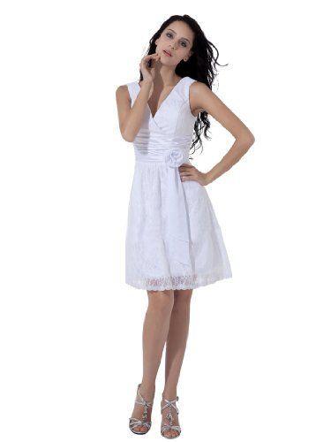 Remedios Boutique Lace over Satin Sleeveless V Neck Short A Line Bridal Reception Dress, Ivory, S4 Remedios Boutique,http://www.amazon.com/dp/B00BG4C7XM/ref=cm_sw_r_pi_dp_WyRLrb00TG5ZY6Z4