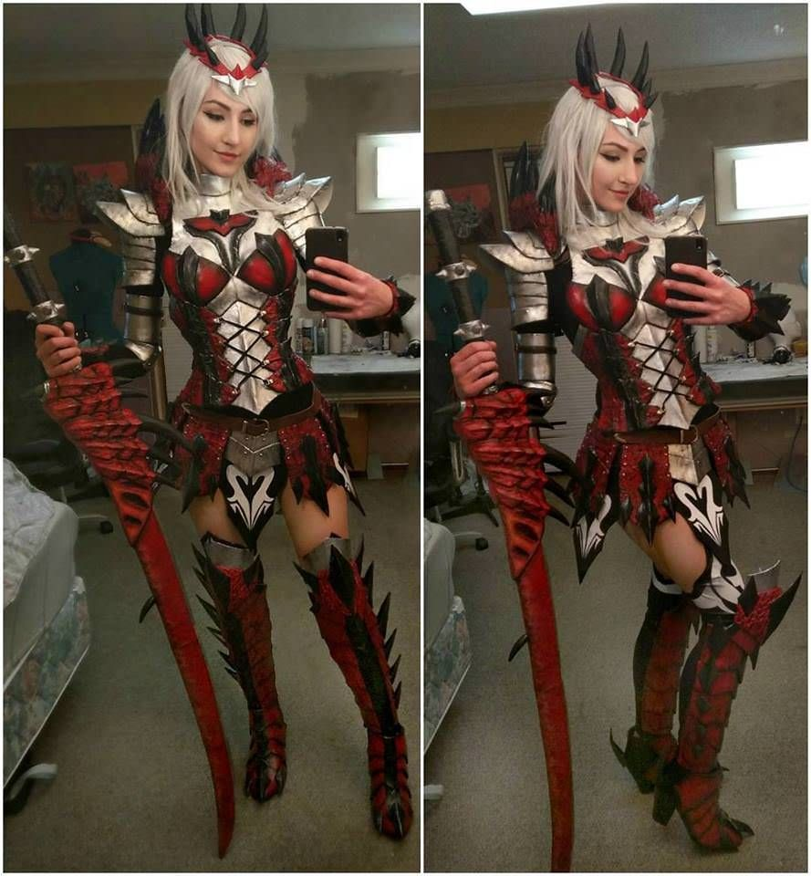 armor of dreadking rathalos (monster hunter)luxlo cosplay