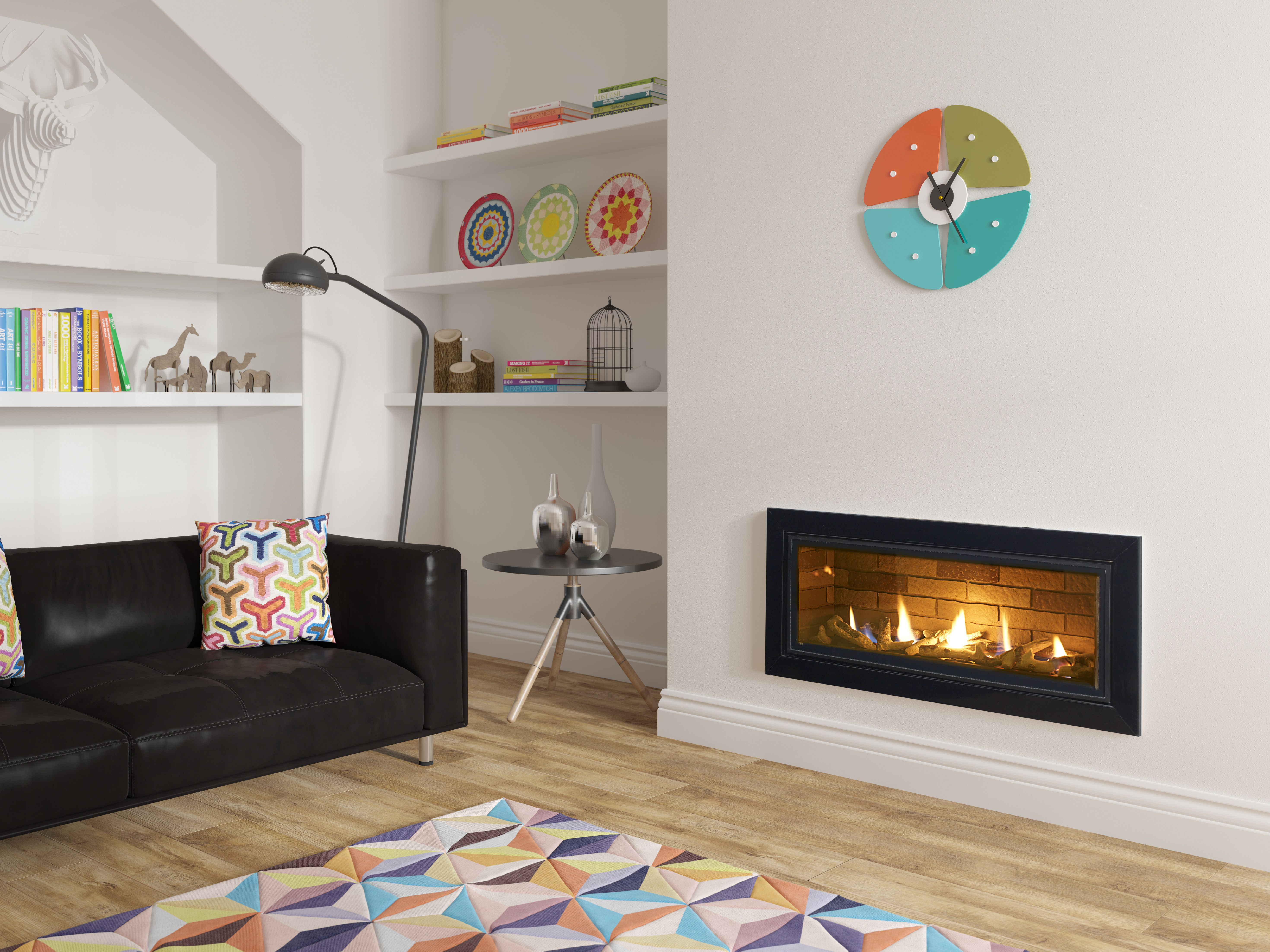 Infinity 890bf With Rustic Brick Liners To Learn More About Our Infinity Gas Fires And To Request Living Room With Fireplace Living Room Tv Fireplace Suites