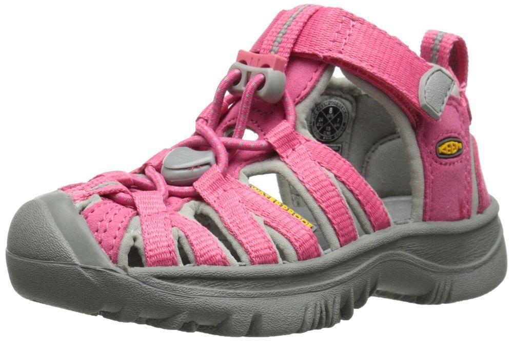 b2c3852b4844 KEEN Kids Whisper Sport Sandals 13 Honeysuckle Pink Gray Little ...