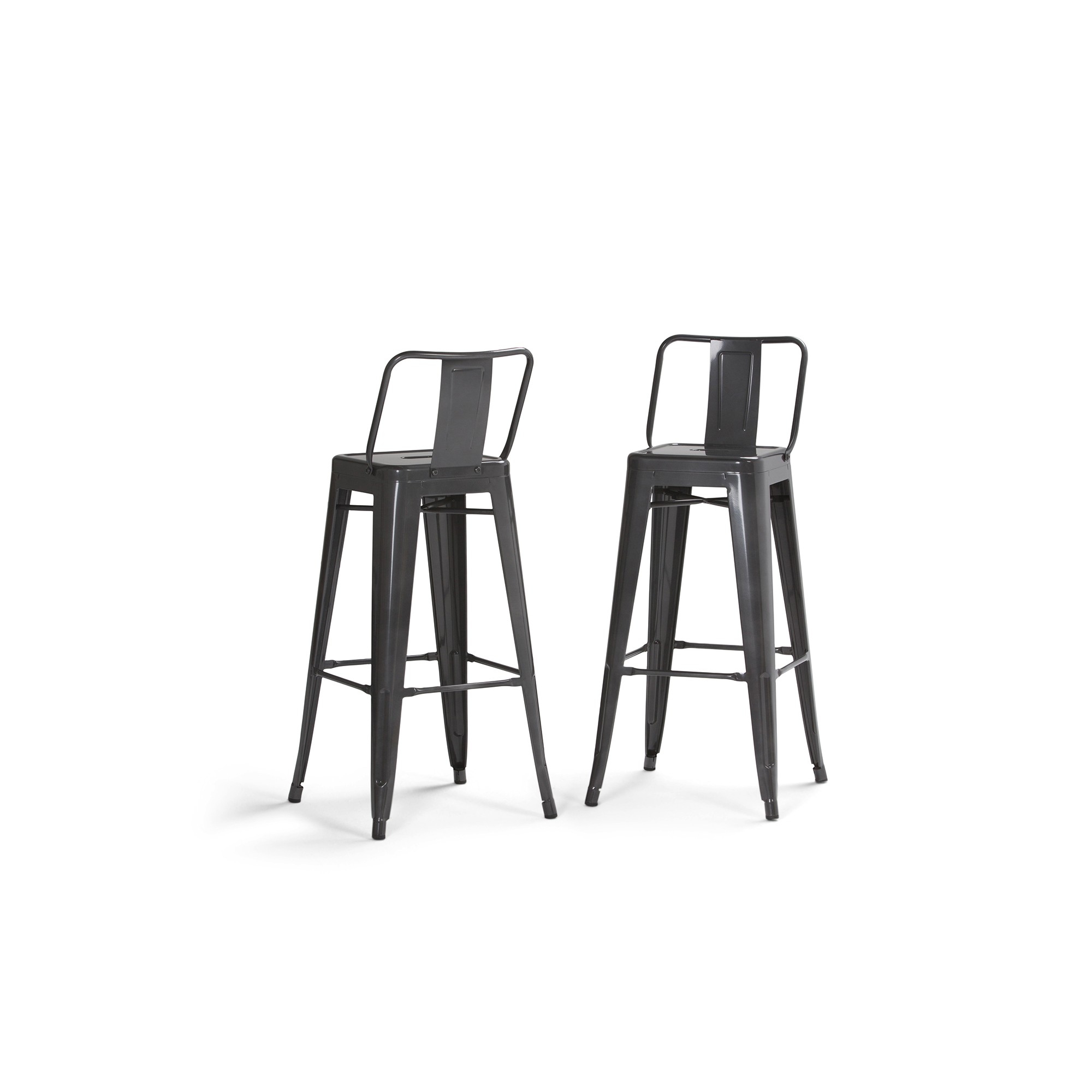 Awesome 30 Set Of 2 Josephine Metal Bar Stool Gray Wyndenhall Ocoug Best Dining Table And Chair Ideas Images Ocougorg
