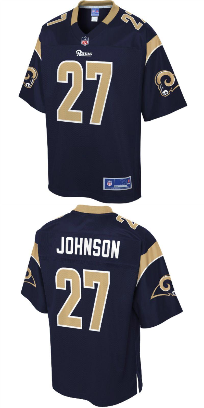 super popular 0d6bd 187d8 Isaiah Johnson Los Angeles Rams NFL Pro Line Team Color ...