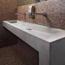 Resultado de imagen de lavabi bagno in cemento resina   LAVABOS ...