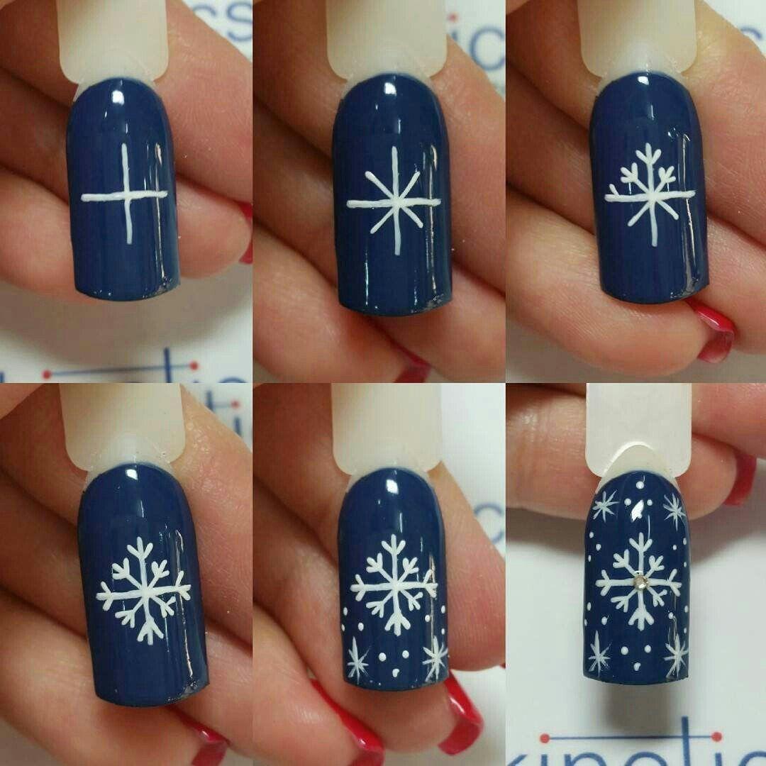 самом дизайн ногтей фото снежинки на ногтях четверть часа