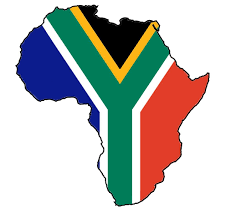 South Africa Flag In Africa Map.Image Result For South Africa Map Coloured In South African