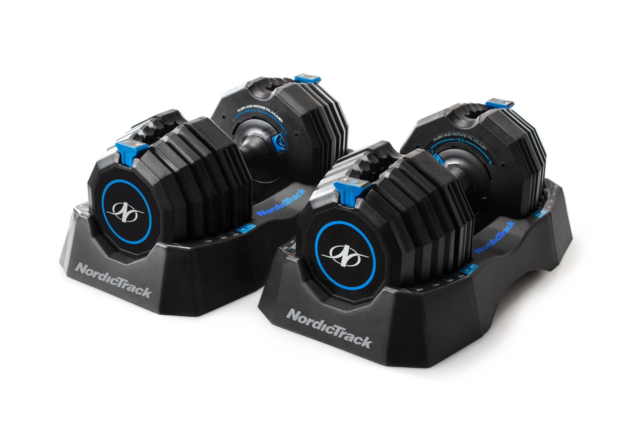 NordicTrack SelectAWeight 55 Lb. Dumbbell Set gallery